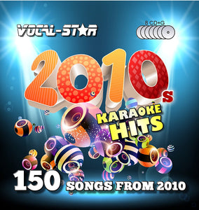 VOCAL-STAR 10S KARAOKE DISC SET 8 CDG DISCS 150 SONGS