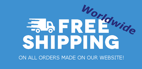 Free Worldwide Shipping on orders from our site