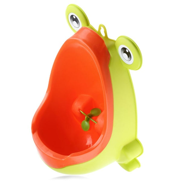 Frog Shape Baby Boy Urinal Vertical Wall-Mounted or Free Standing - Rodco Global