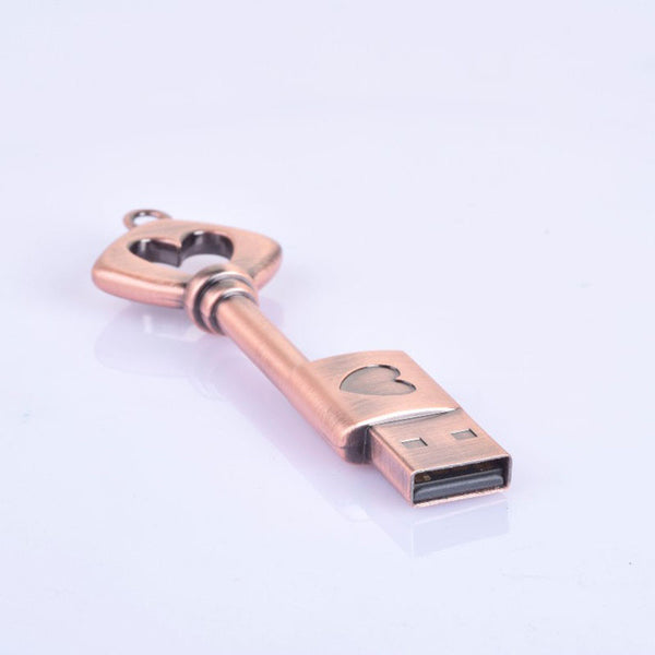 Heart Key USB Flash Drive | From 4 to 32 GB - Rodco Global