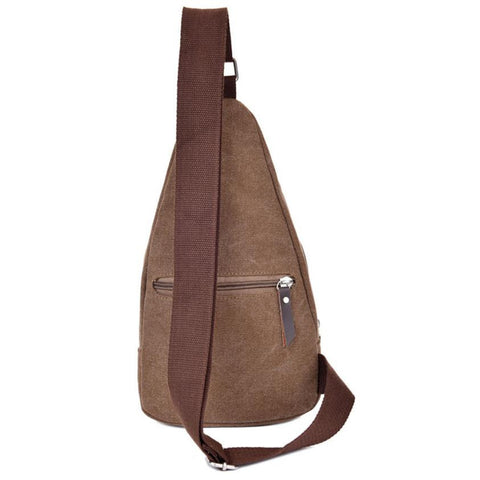 Casual Mens Canvas Crossbody Bag Backpack by XINIU - Rodco Global