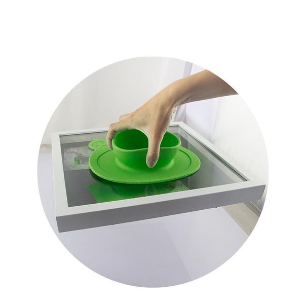 100% Silicone Dish Bowl With Suction Cup For Baby, Toddler 1Pc - Rodco Global