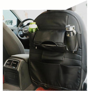 PU Leather Car Seat Back Multi-Pocket Storage Organizer by VINGTANK - Rodco Global