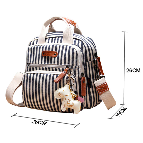 Multi-functional Diaper Backpack For Mom with Cartoon Horse Decoration by CHANGBVSS - Rodco Global