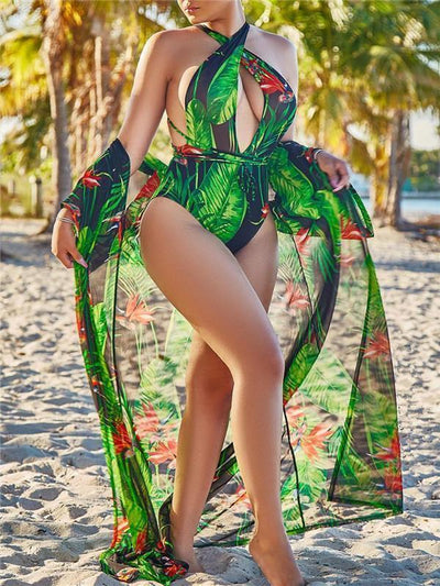 Brazilian Monokini with Cover up