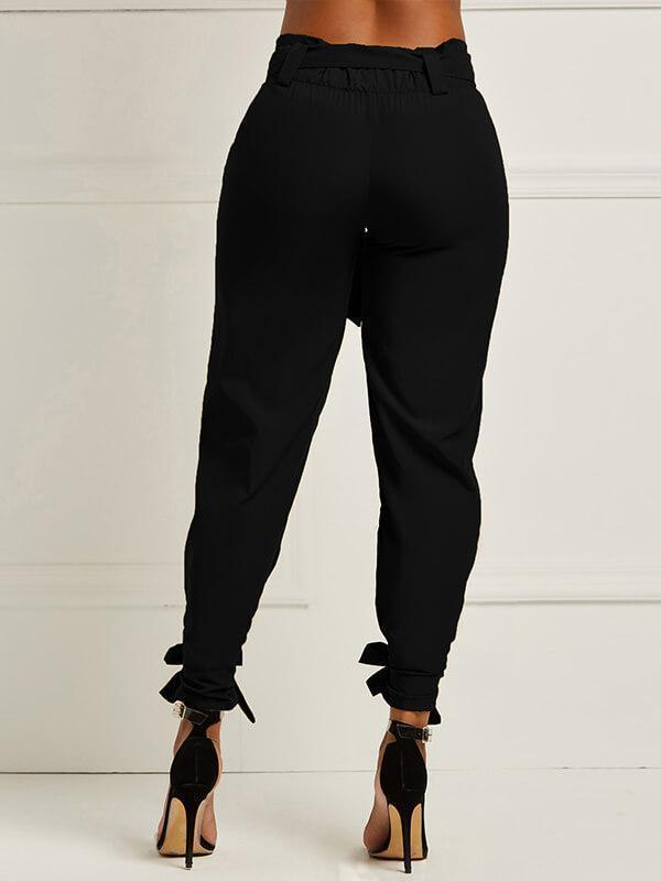 Tied Jogger Pants