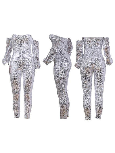 Sequin Sweetheart Jumpsuit