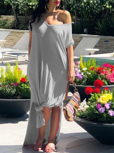 Everyday Slit Dress
