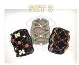 CLASSIC SET Handmade InstaStyle Clips - Set of 3 - FREE SHIPPING