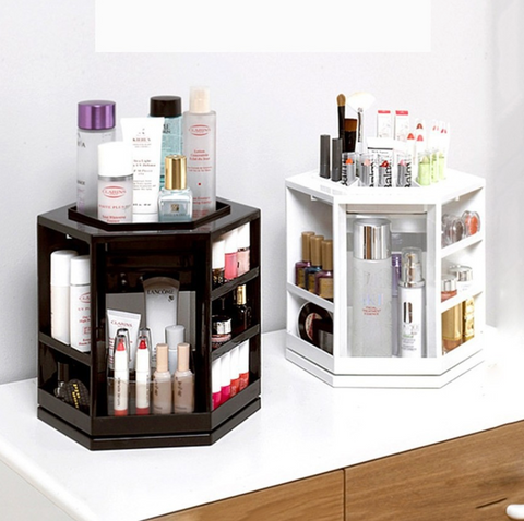 Hexagonal 360 Make Up Organizer