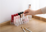 Multilayer & Multipurpose Acrylic Organizer for Lipstick, Mascaras, Nail Polish, Etc.