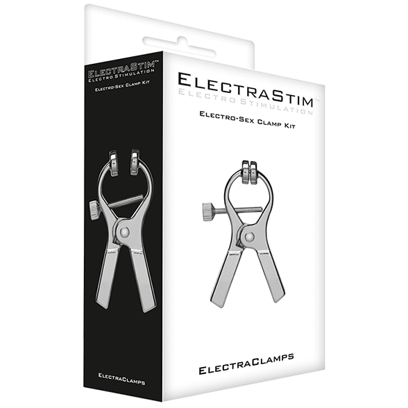 ElectraClamps Uni-Polar E-Stim Clamps (2 pack)