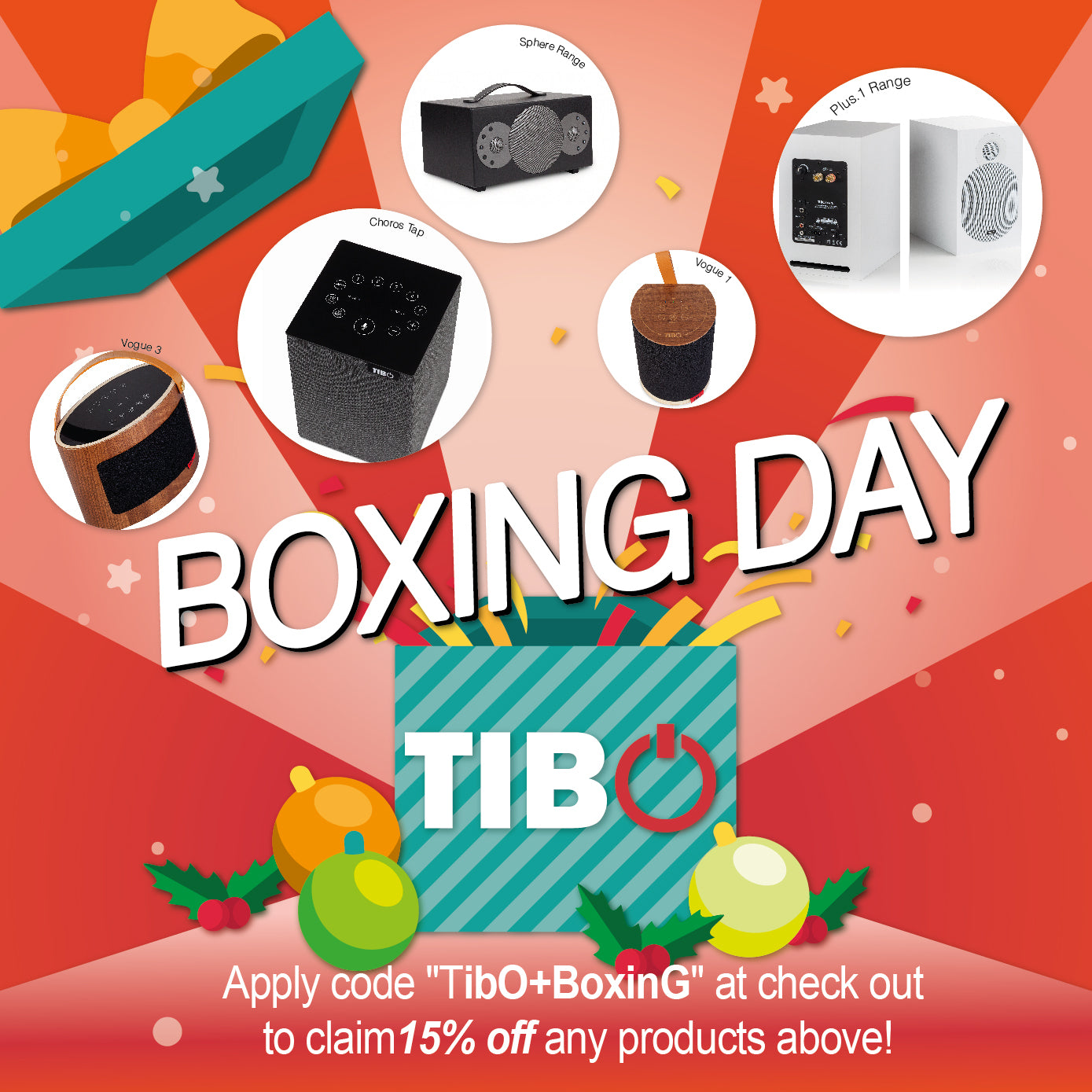 TIBO Boxing Day Deal!