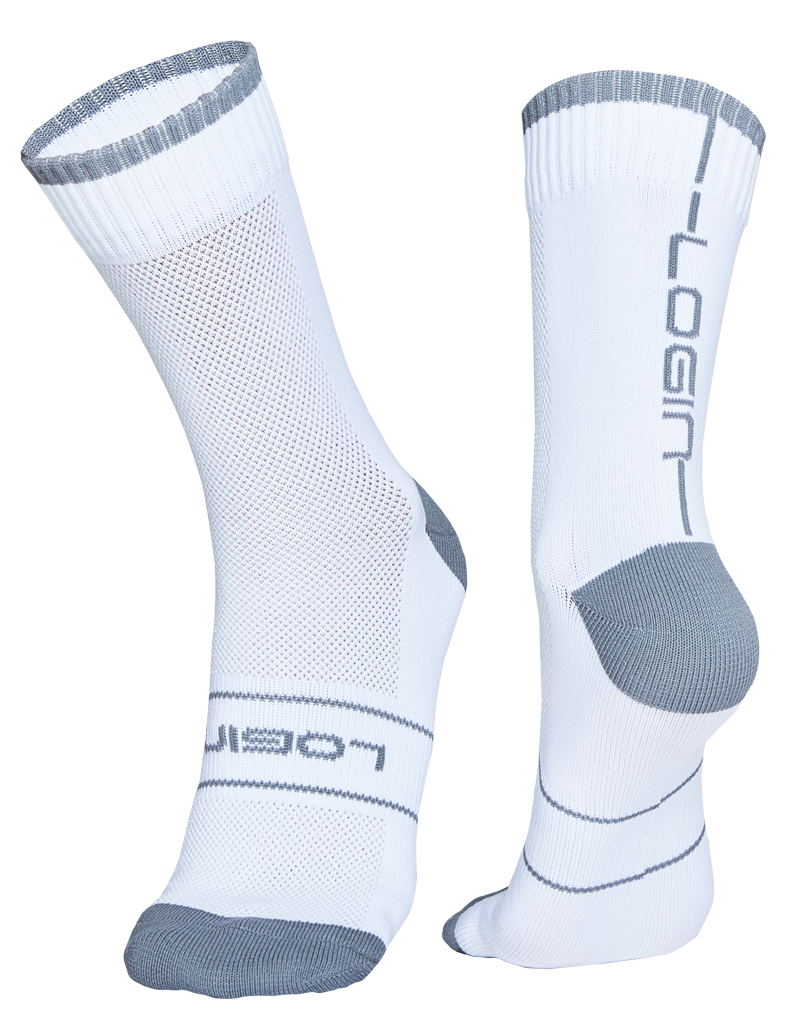 White/Grey Socks
