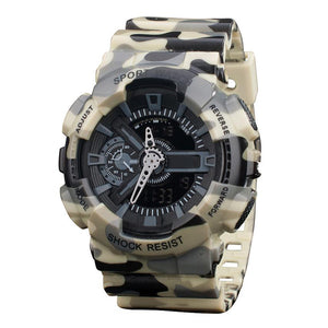 $50 Watches - Black Camo Watch Waterproof