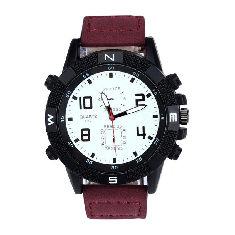 $50 Dollar Watches - The Super Sport Red