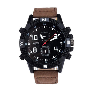$50 Dollar Watches - The Super Sport Coffee and Black
