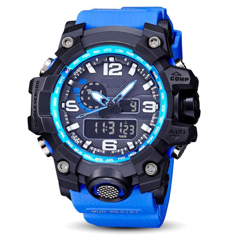$50 Dollar Watches - Rugged Journey Blue