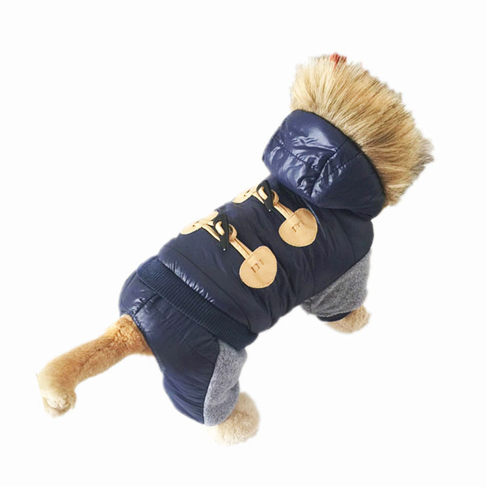 Dog Hooded Jumpsuit