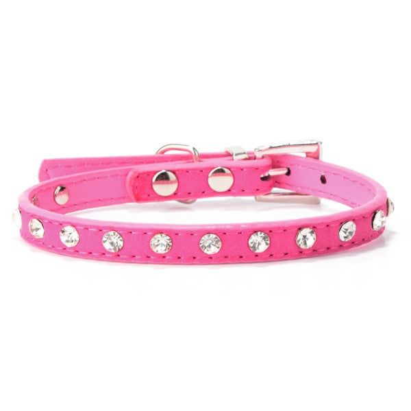 Rhinestone Pet Neck Strap