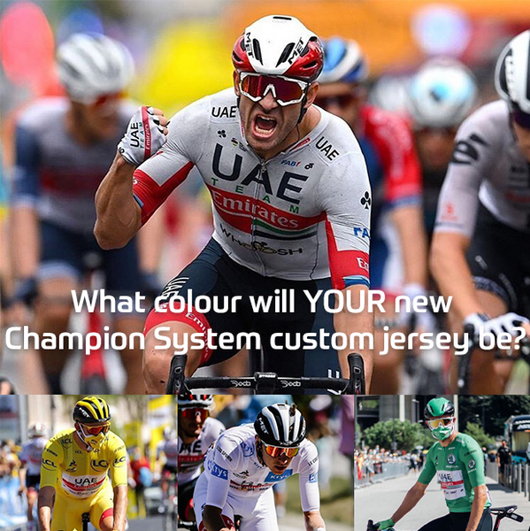 What Colour Will YOUR New Champion System Jersey Be?