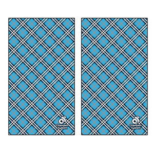 Blue Plaid - Gaiter