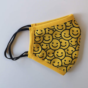 Smiley Faces - Kids Non-Medical Face Mask