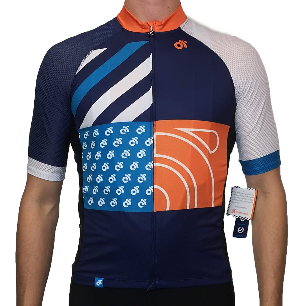 Performance Summer Jersey Mesh Sleeves Mens