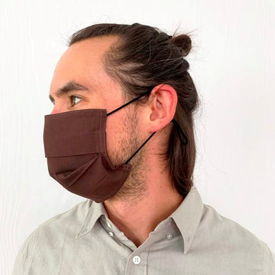Flat Pleated Face Mask