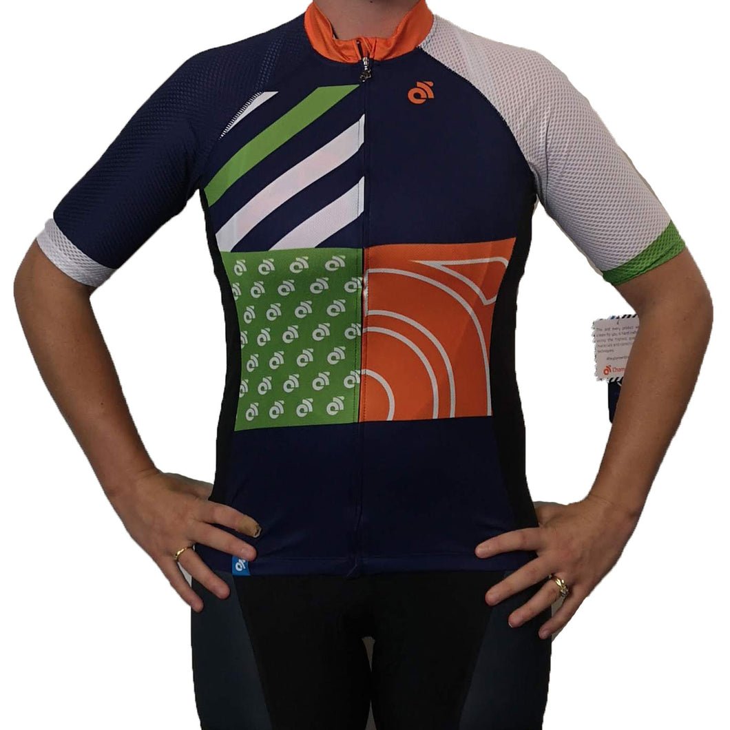 Performance Summer Jersey Mesh Sleeves Womens - Sample