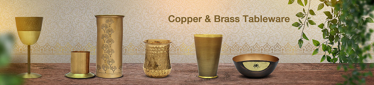Copper & Brass Tableware