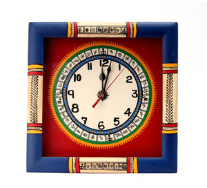 Wall Hanging  Warli Clock