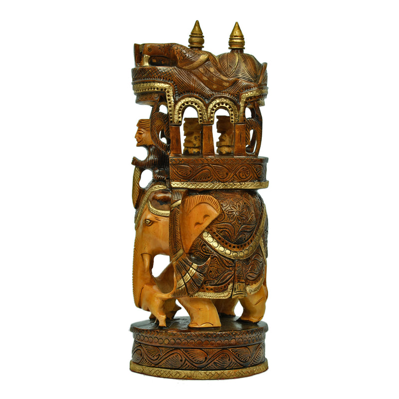 Carved & Painted Ambari