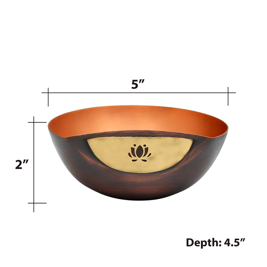 Ao Firdaus Copper Nut Bowl