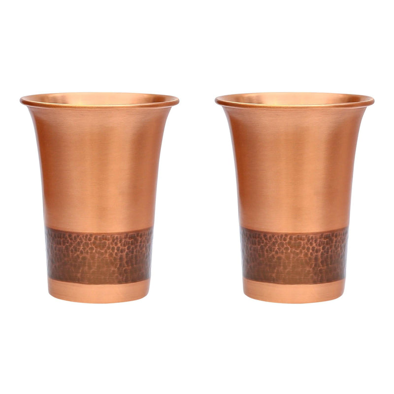 Ao Taama Copper Glass-Pair ragaarts.myshopify.com