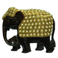 Elephant with Beads Design