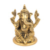 Ganesha Sitting On Base