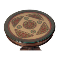 Wooden Center Table With Dhokra Arts