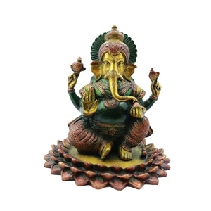 Ganesha Sitting on Lotus