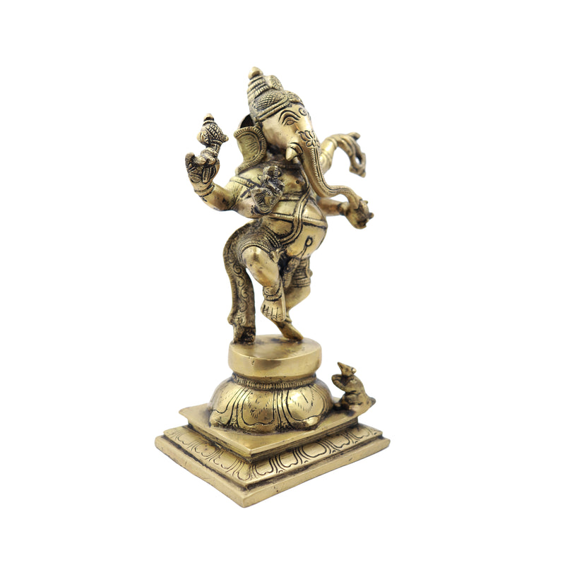 Dancing Ganesha on Base