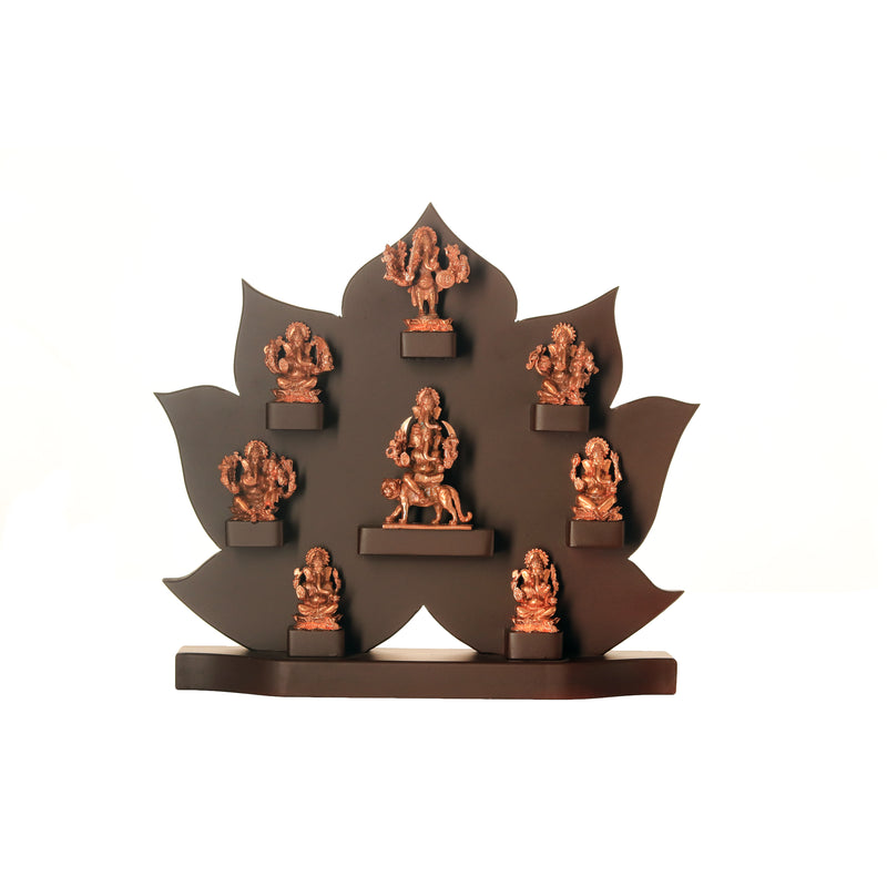 Ashta Ganesha With Frame