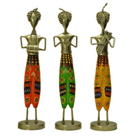 Art Objects Iron Painted Rajasthani Safa Musician ragaarts.myshopify.com