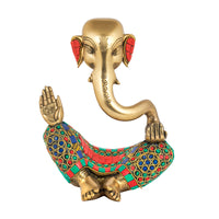 Modern Ganesha With Stone Finish