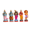 Dasavatharam Set Clay Dolls