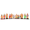 Aarupadai Veedu Set Clay Dolls