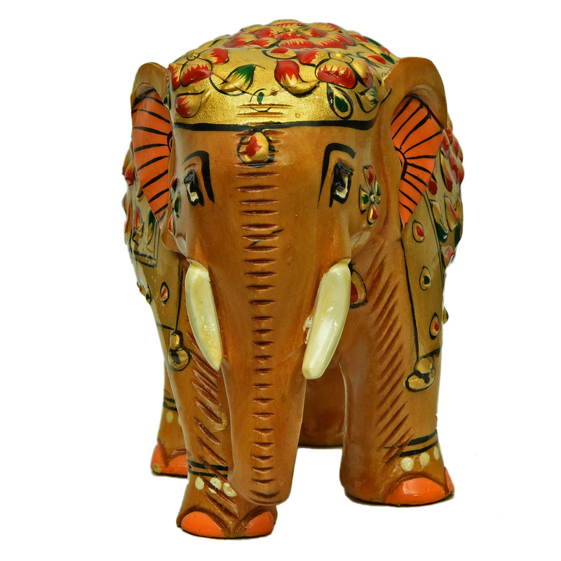 Elephant With Embossed Painting ragaarts.myshopify.com