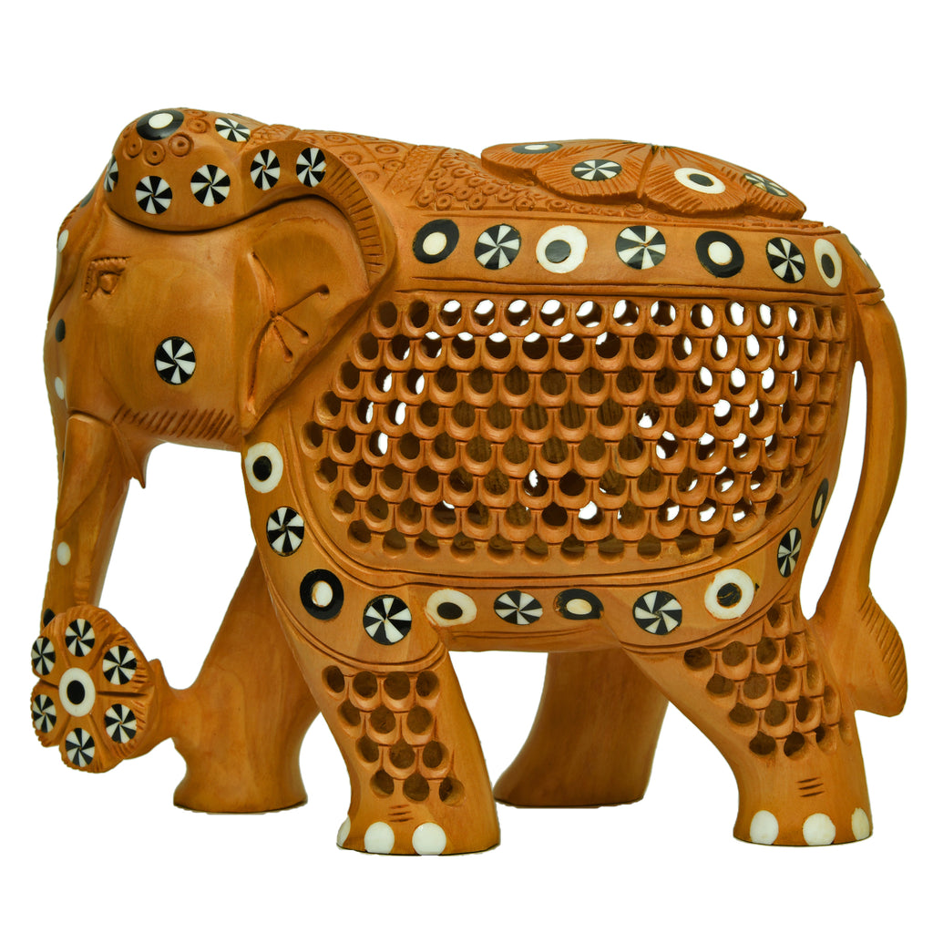 Elephant with Inlay Working
