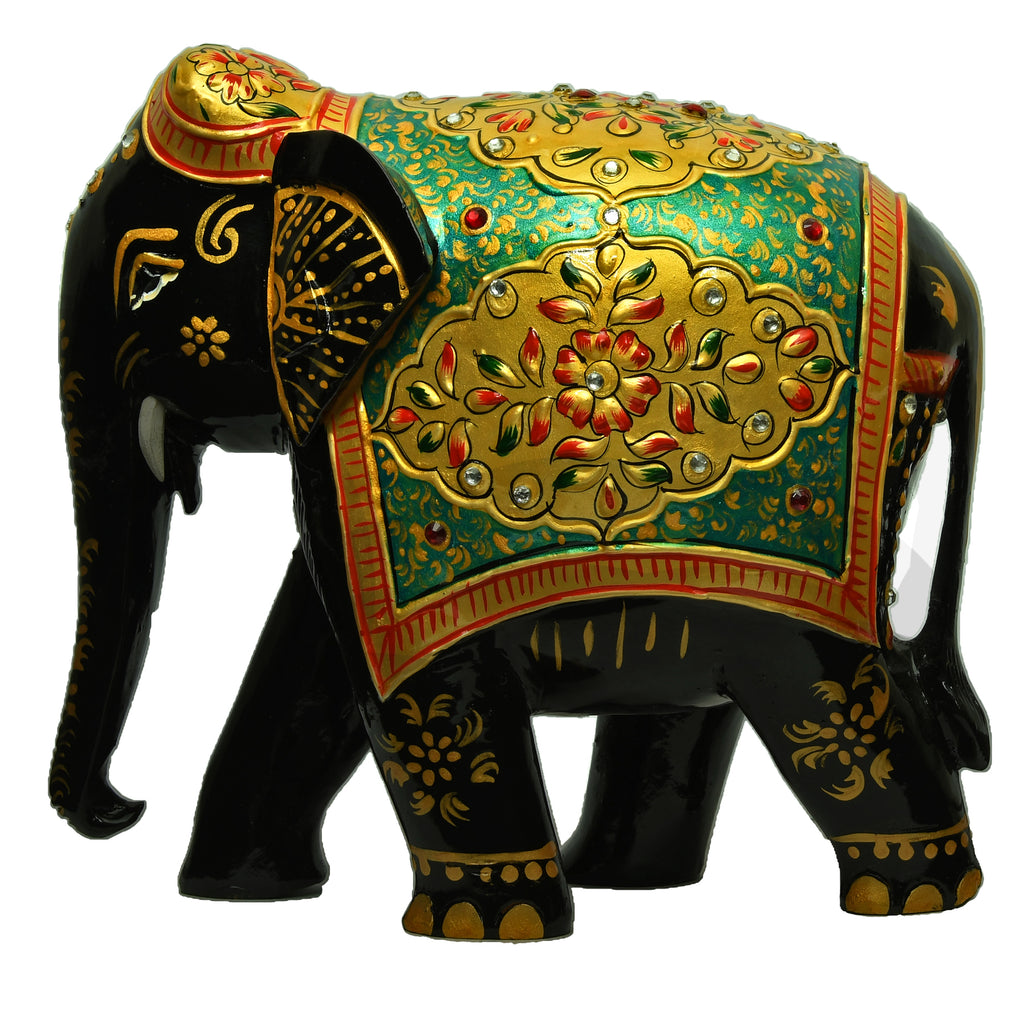Elephant With Amboj Painting