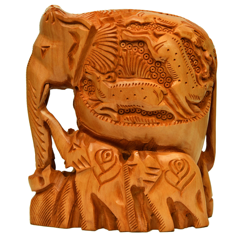 Elephant with Family ragaarts.myshopify.com