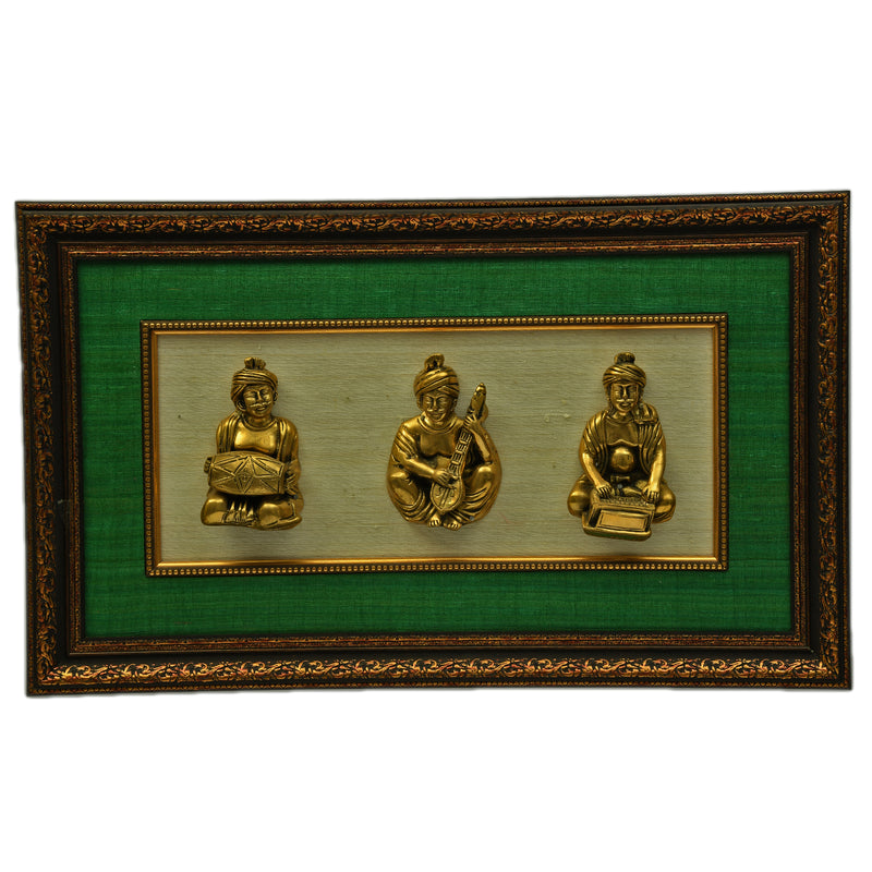 Brass Statues with Frame ragaarts.myshopify.com